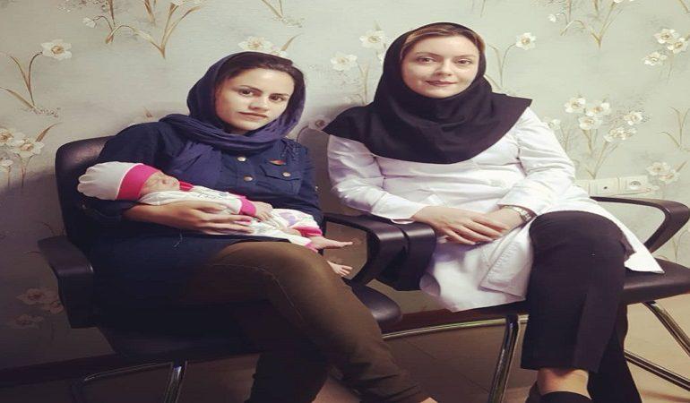 زایمان طبیعی، خانم شاهی توسط خانم دکتر آرزو سعیدی