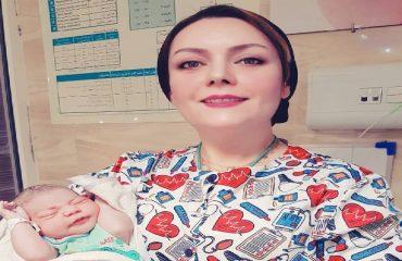 زایمان طبیعی - خانم فاطمه رعنایی مادر ۱۹ساله