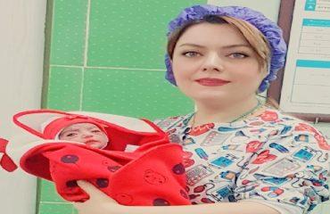 زایمان طبیعی - تولد مانیسا کوچولو